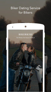 Biker Dating app for motorcycle riders to invite local girls or guys for camping dating.