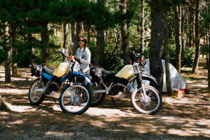 Invite your Harley biker girl to ride for a passionate motorcycle camping and enjoy the biker style dating.