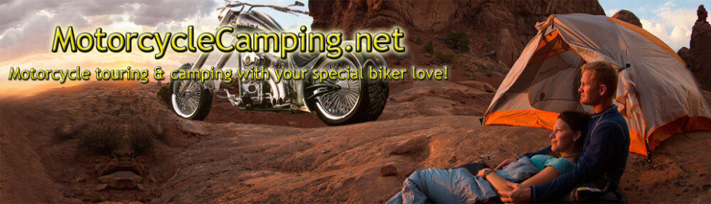 Motorcycle camping during your motorcycle touring